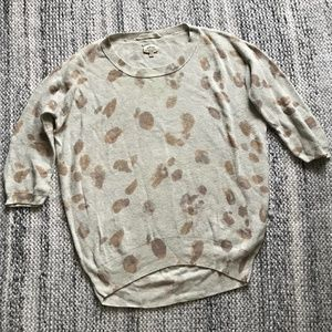 WILFRED BY ARITZIA Cream Spot Sweater XXS